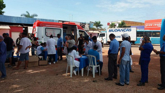 Novembro Azul: Profissionais de Saúde realizam exames na Rodoviária para detecção de câncer de próstata
