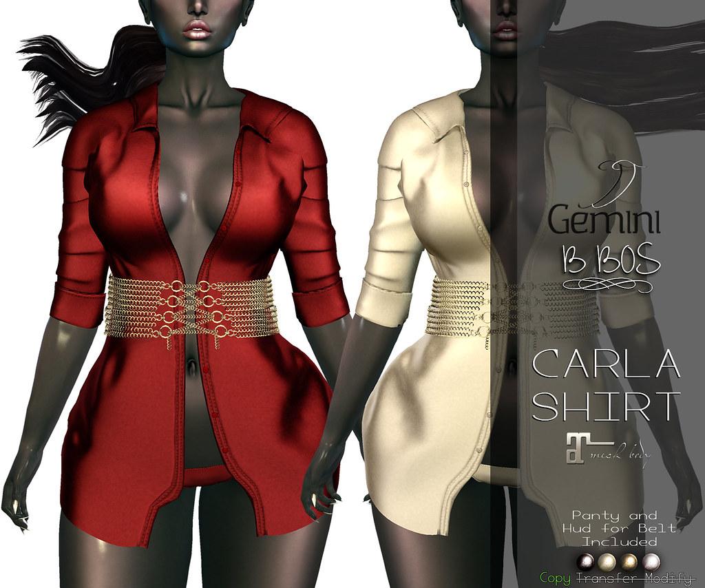 •Gemini & B BOS -Carla Shirt-@VANITY EVENT•