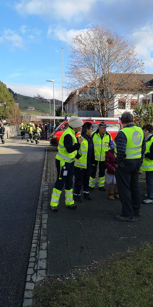 Feuerwehrübung mit SV Zäziwil 2018