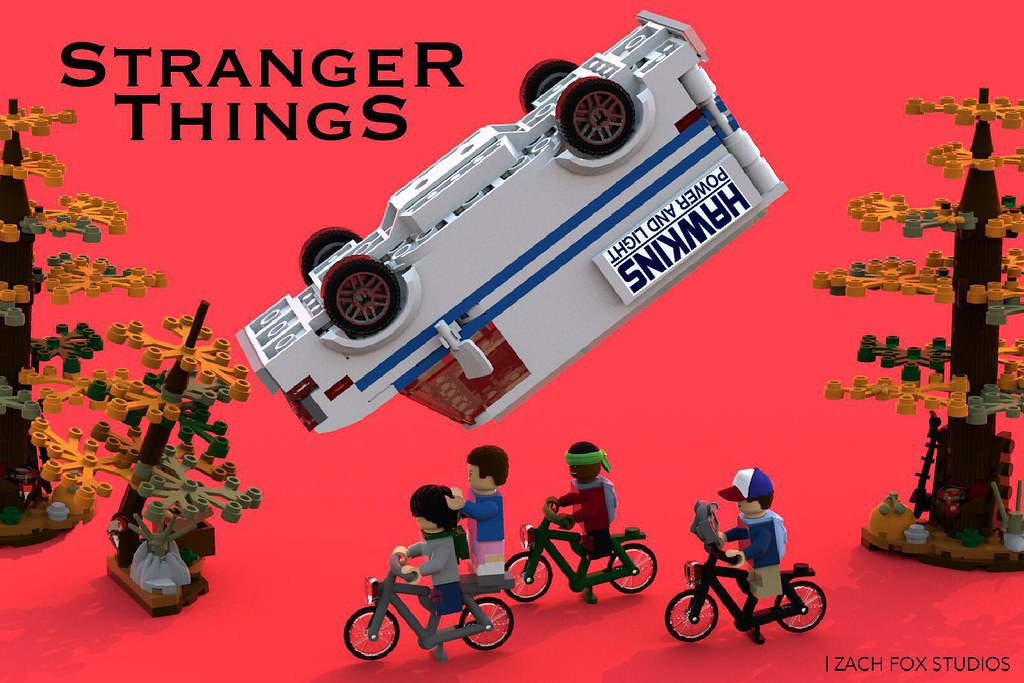 Stranger Things LEGO IDEAS SET