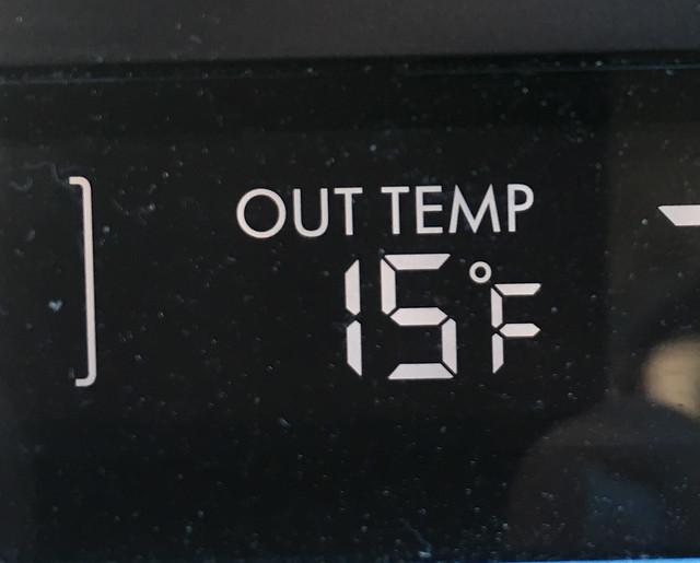 Morning Temperature