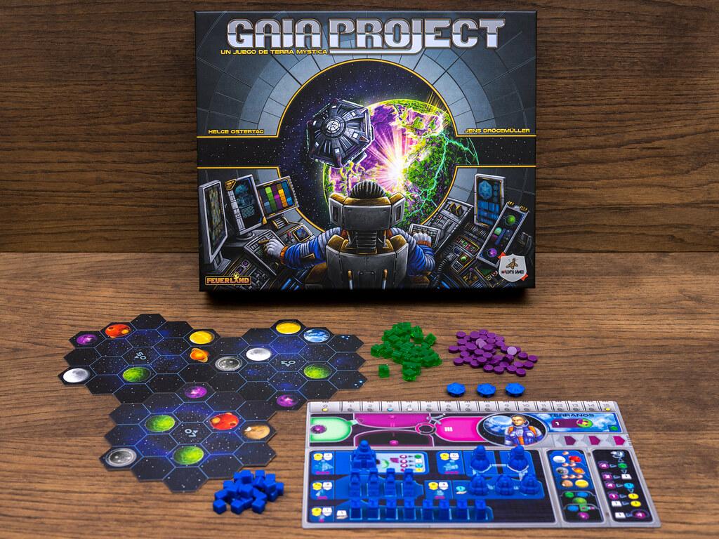 Juego de mesa Gaia Project
