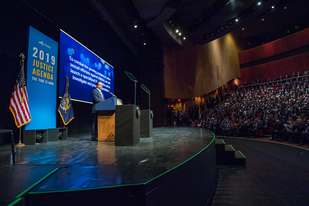Governor Cuomo Outlines 2019 Justice Agenda: The Time is Now