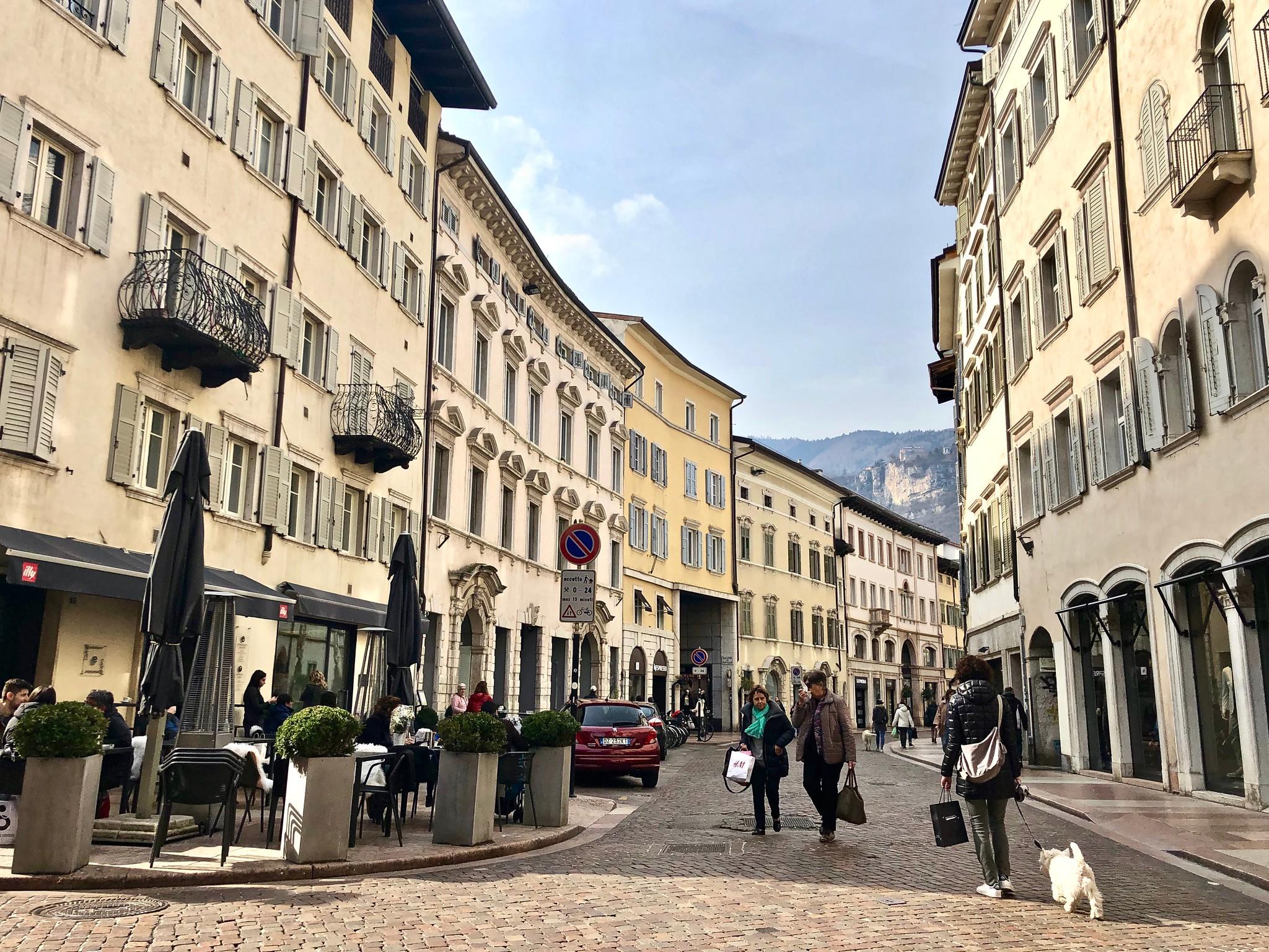 Itinerario di Trento - Giro al Sas