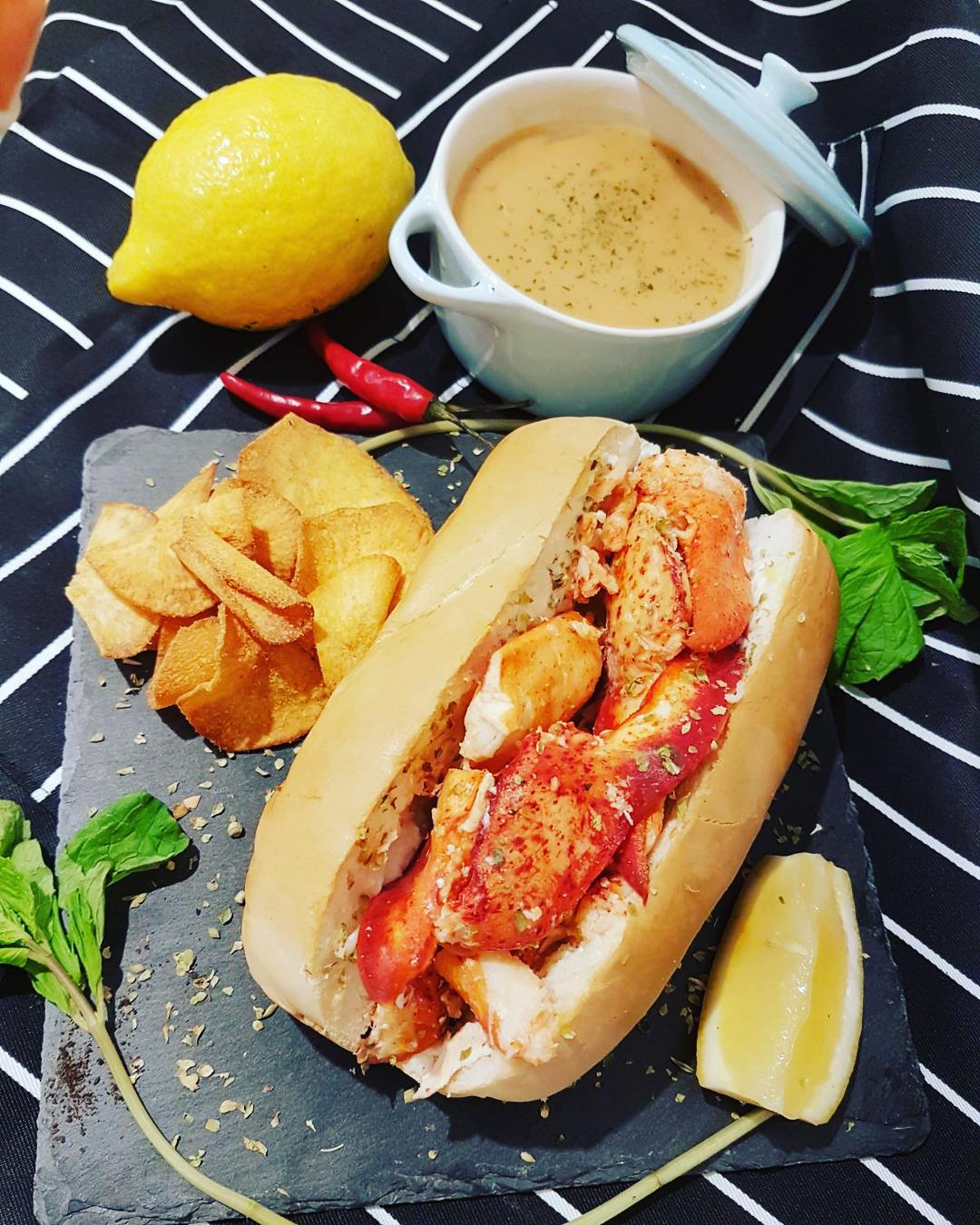 Chunky Crabs - Lobster Roll and Lobster Bisque