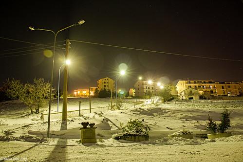 A snowy New Year