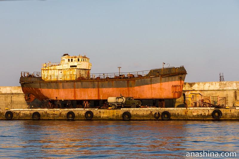 Ремонт судна, Ялта, Крым