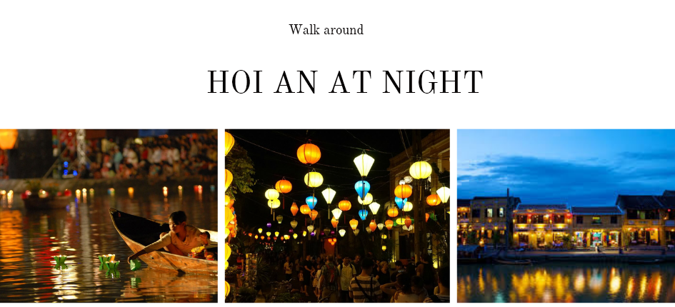 HOI AN AT night