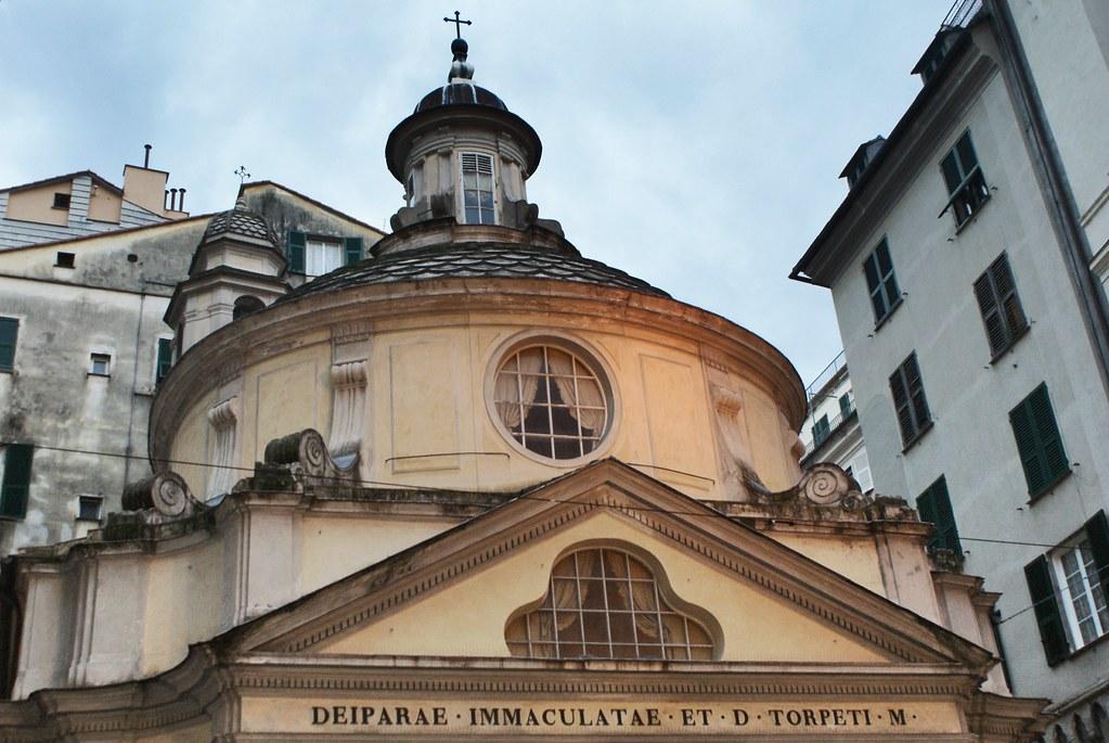 EgliseSan Torpete, petite merveille baroque à Gènes