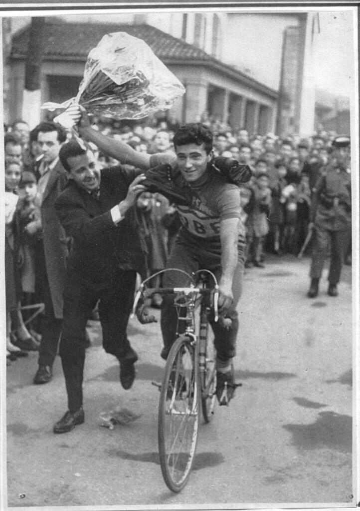 Zanchi Mario festeggia una vittoria