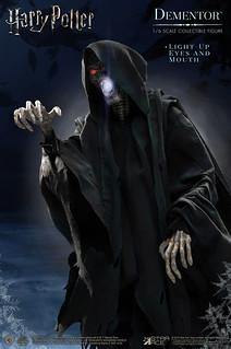 恐怖、猙獰的臉孔更加細緻!! Star Ace Toys《哈利波特:阿茲卡班的逃犯》催狂魔 Dementor 1/6 比例可動人偶作品 普通版/DX版
