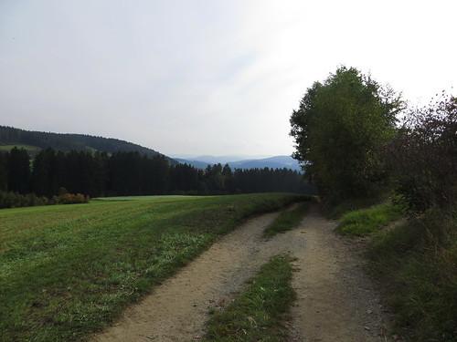 20170928 01 644 ostbay Berge Feld Wald Wiese Herbst Bäume Hütte Weg