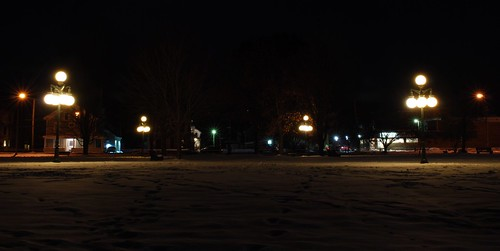 bandstandparklyndonvillevermont bandstandpark lyndonvillevermont vermont nek northeastkingdom thekingdom newengland us unitedstatesofamerica longexposure longexposurephotography park urbanbeauty lyndonville darksky night snow winter lighttrail community caledonia caledoniacounty