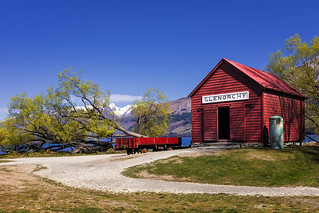 Glenorchy Wharf & Historic Railway Shed, Glenorchy, New Zealand