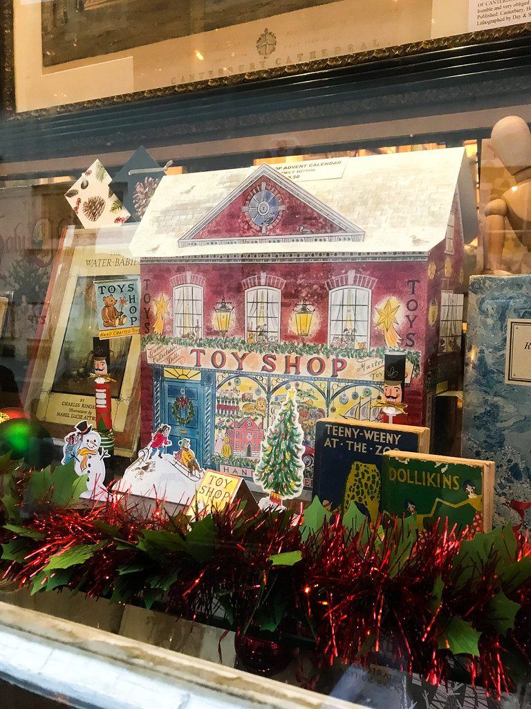Victorian Christmas Windows, Canterbury