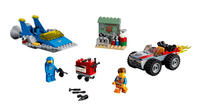 Emmet and Benny's 'Build and Fix Workshop' (70821)
