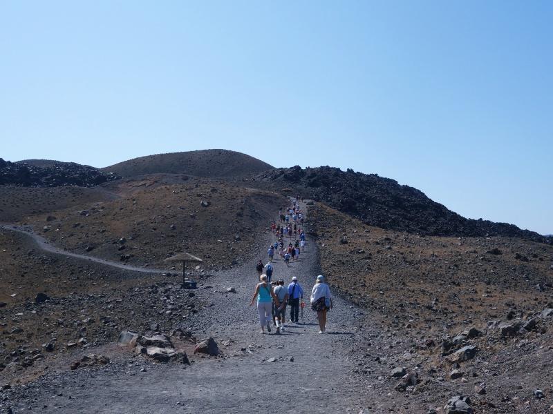 Volcano Santorini