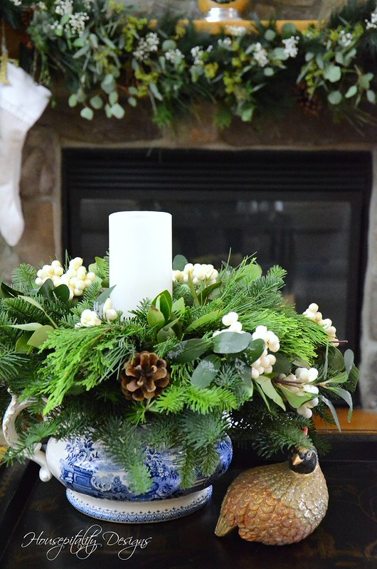 Snowberry Arrangement-Housepitality Designs