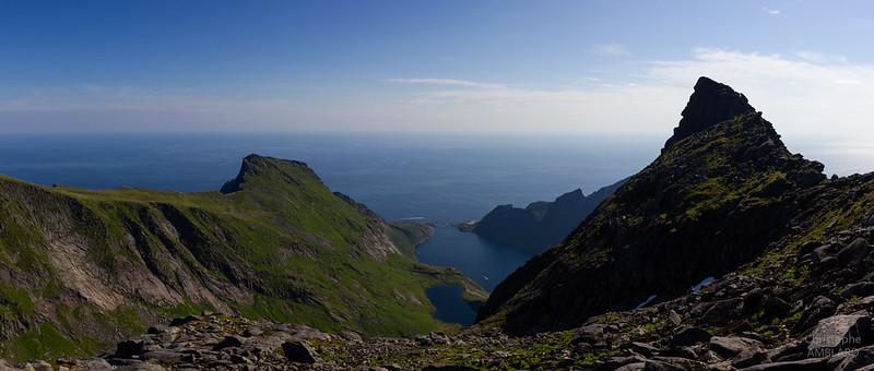 Djupfjorden depuis le Munken