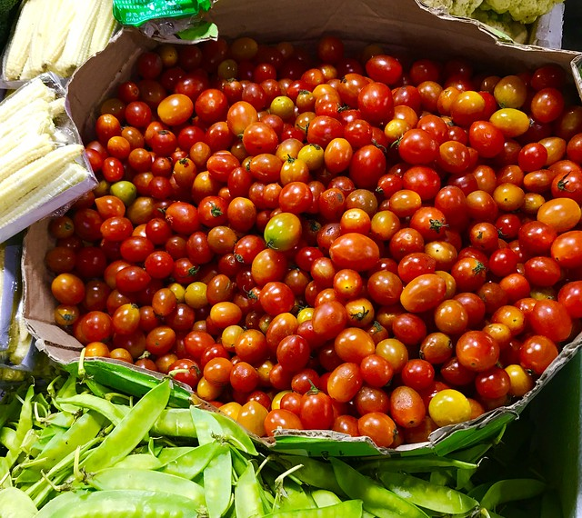 cherry tomatoes from Baguio