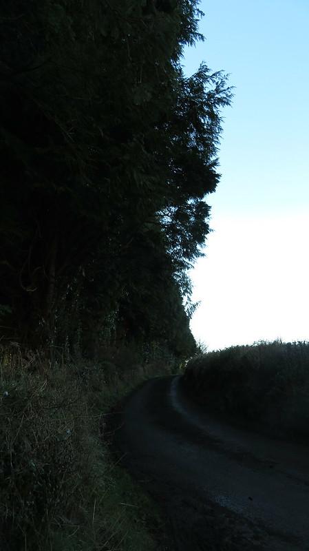 Lane near Hill Farm Cottages