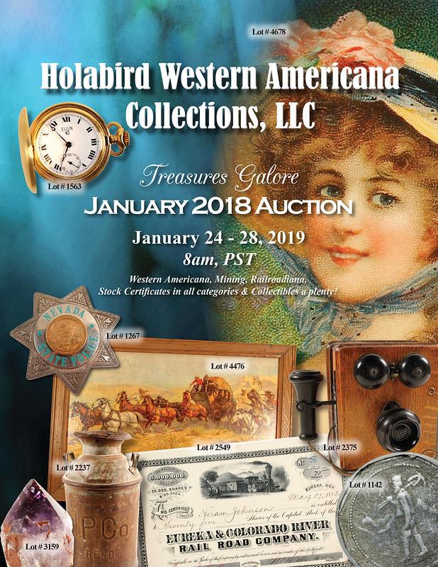 Holabird E-Sylum ad 2019-01-06 January 2019 sale