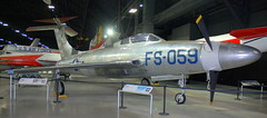 Republic XF-84H, National Museum of the US Air Force, Dayton, Ohio, USA.