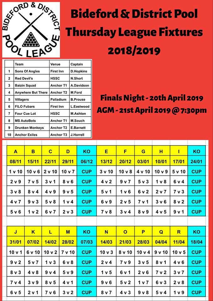 Thursday Fixtures Winter 2018 45860182221_cda5588125_b