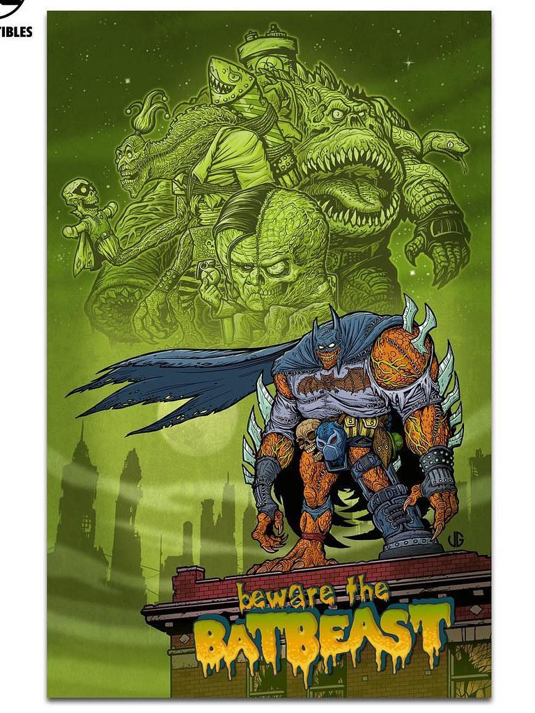有著怪物體魄的蝙蝠俠降臨!! DC Collectibles DC Artists Alley【蝙蝠俠 by James Groman】Batman by James Groman