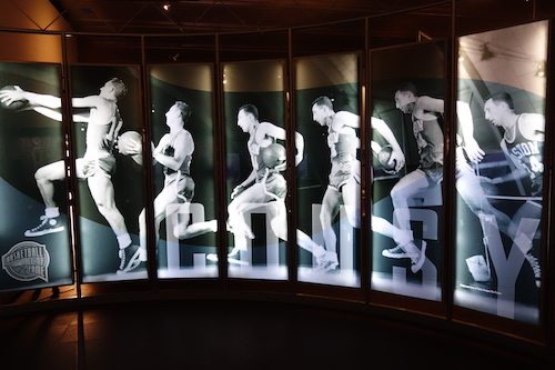 Bob Cousey. From Nothing But Net: The Naismith Basketball Memorial Hall of Fame Is a Sweet Three-Pointer