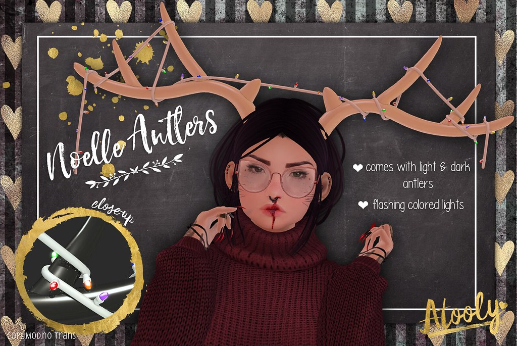 Noelle Antlers @ Tannenbaum - TeleportHub.com Live!