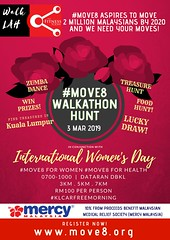Move8 Walkathon Hunt Women's Day 3 Mar 2019