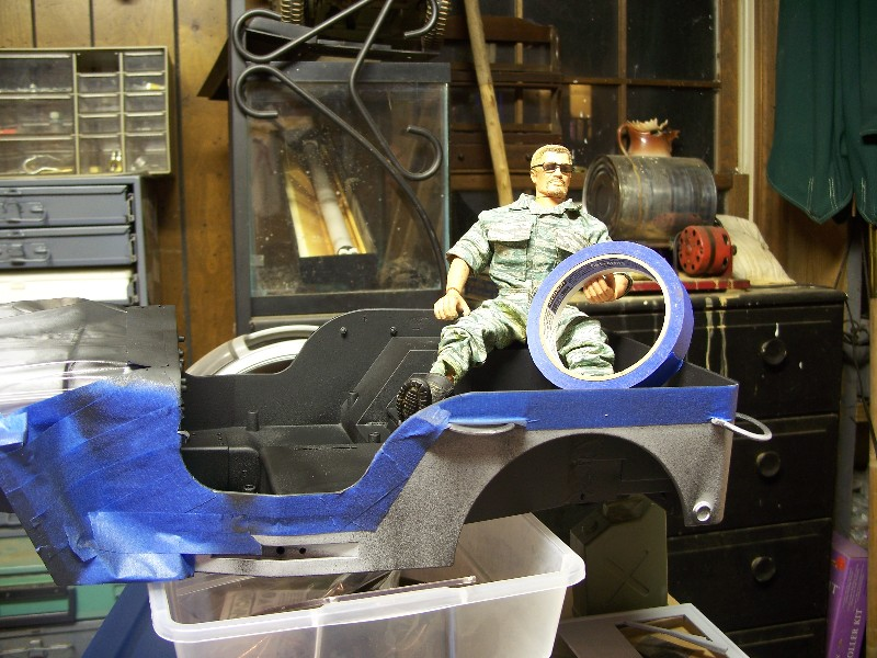 Building an RC sixth scale Jeep 46133226222_775bb5c50d_o