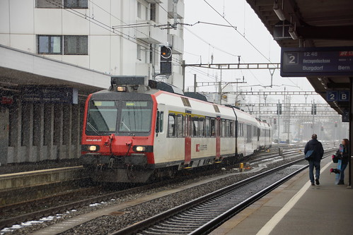 SBB-Domino in Langenthal