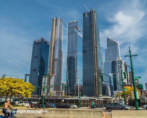Hudson Yards Skyscrapers, Midtown West, Manhattan, New York City