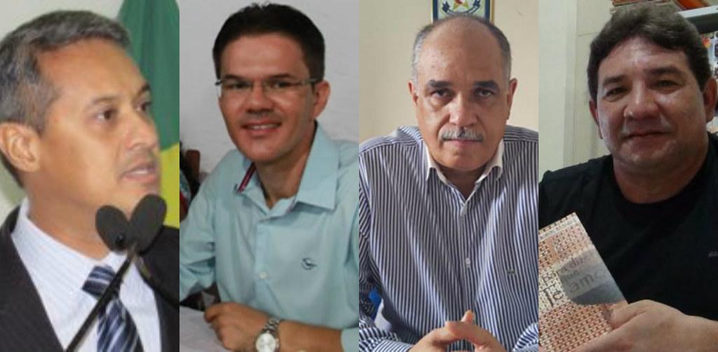 Holofotes em 4 VIPs. Jardel,  Neucivaldo Moreira, Wildson  Queiroz e Nelson Silva, VIPs: Jardel, Wildson, Nelson e Neucivaldo