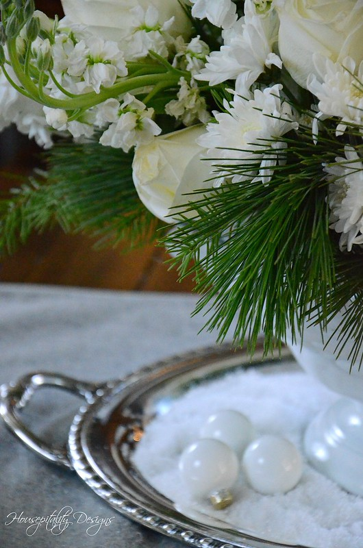 White Christmas Centerpiece-Housepitality Designs-12