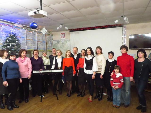 15 grudnia 2018 zespół wokalny TKP w Sumach razem z członkami Polonii w Połtawie podczas III Festiwalu Kolęd