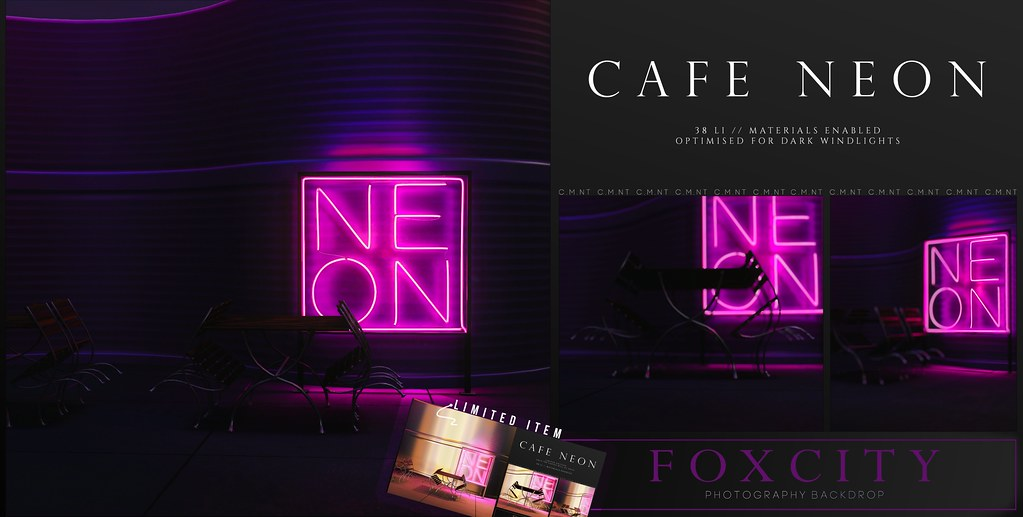 FOXCITY. Photo Booth - Cafe Neon @ Limit8 - TeleportHub.com Live!