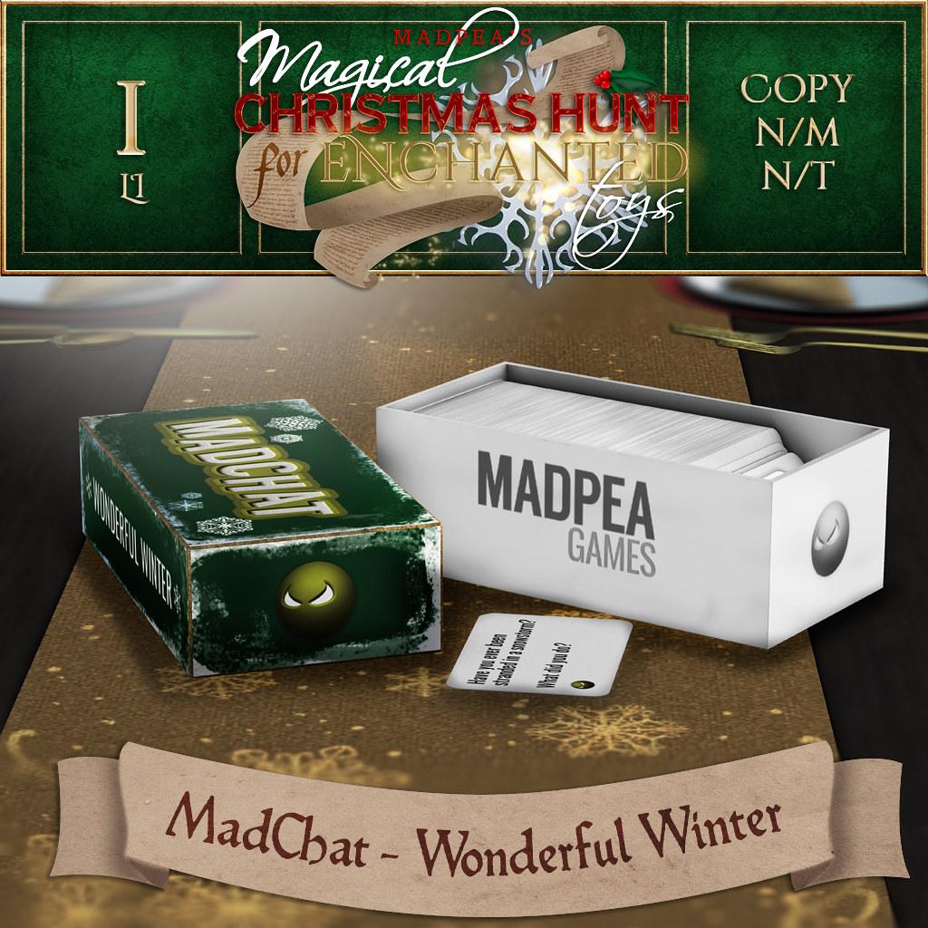MadChat – Wonderful Winter MadPea Christmas Hunt Prize