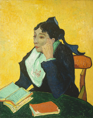 Madame Joseph-Michel Ginoux (1888–1889) by Vincent Van Gogh. Original from the MET Museum. Digitally enhanced by rawpixel.