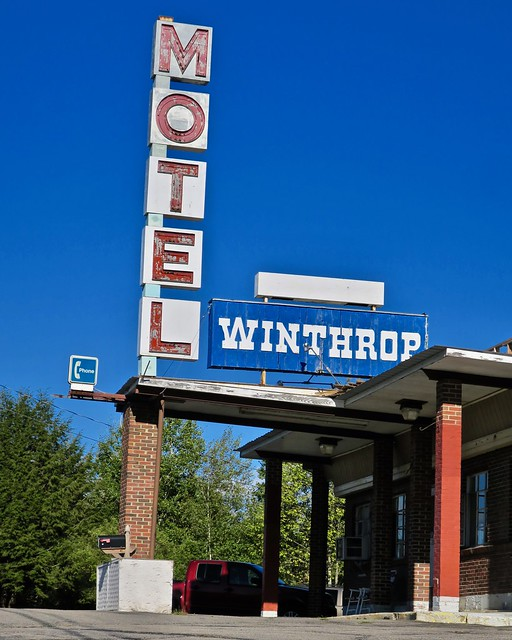 Winthrop Motel, Winthrop, ME, Canon POWERSHOT G9 X