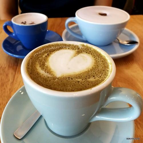 Flat White & Lavender Coffee