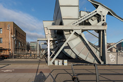 I LIKE THIS SET SCHERZER BASCULE BRIDGES [THIS ONE IS AT CUSTOM HOUSE QUAY AND THERE IS A SECOND SET AT THE CONVENTION CENTRE]-147700