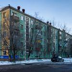Astana: Soviet living blocks