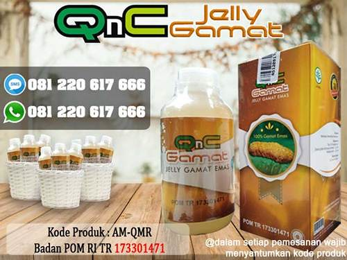 QnC Jelly Gamat Sebagai Obat Benjolan Uci Uci