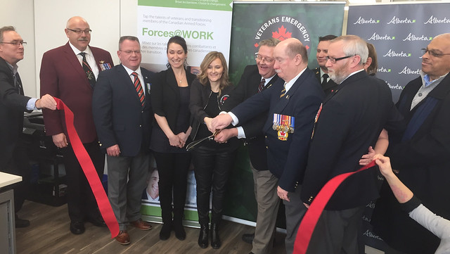 Service centre helps veterans get supports