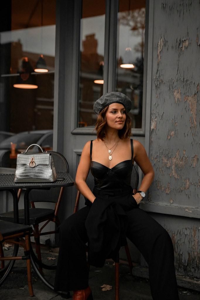 The Little Magpie Suit Lookbook Street Style Scottish Blogger