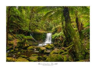 Horse Shoe Falls Tasmania HDR
