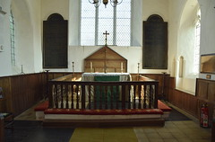three-sided altar rails